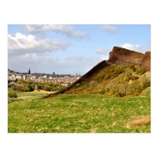 Arthurs placerar, Edinburgh Vykort