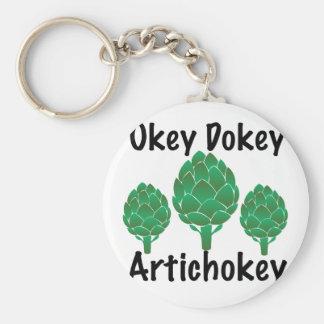 Artichokey Rund Nyckelring