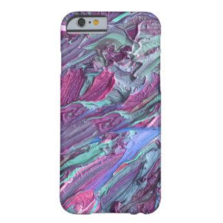 Artsy abstrakt för damer barely there iPhone 6 skal