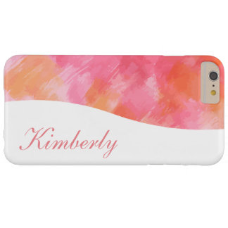 Artsy abstrakt Monogramstil Barely There iPhone 6 Plus Fodral