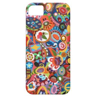 Artsy blom- fodral iPhone 5 skal