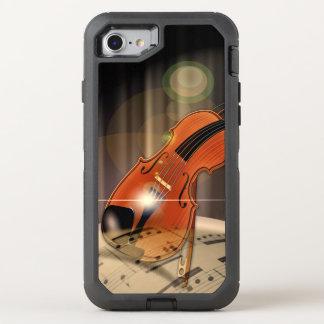 Artsy fiolmusik OtterBox defender iPhone 7 skal