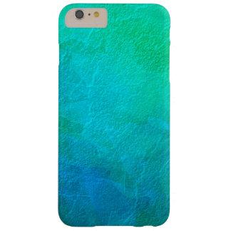 Artsy konst för Aquamarineisabstrakt Barely There iPhone 6 Plus Skal