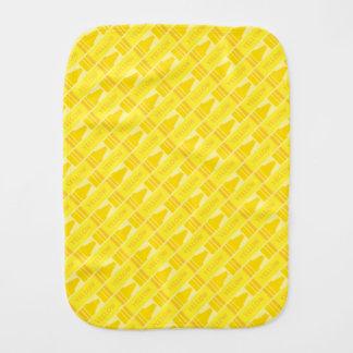 Artsy mönster för gullig gul Crayon Bebistrasa