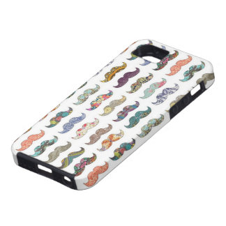 Artsy mustaschtryckfodral iPhone 5 cases