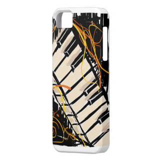 Artsy piano iPhone 5 cover