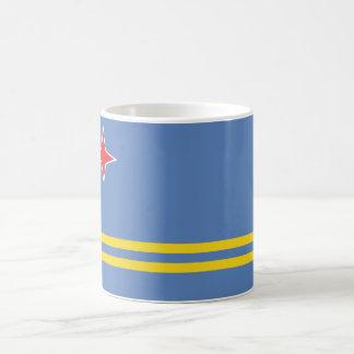 Aruba flagga AW Kaffemugg