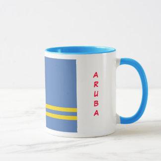 Aruba flaggamugg mugg