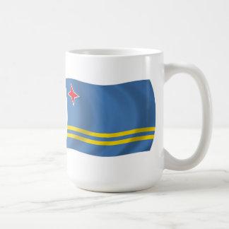 Aruba flaggamugg vit mugg