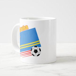 Aruba fotbolllag jumbo mugg