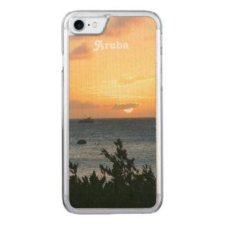 Aruba inställningssol carved iPhone 7 skal