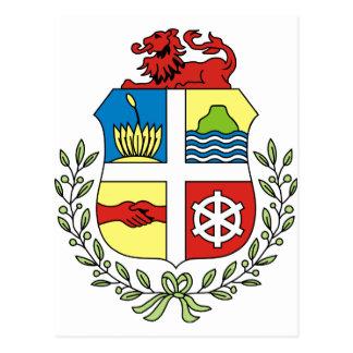 Aruba lag av armen AW Vykort