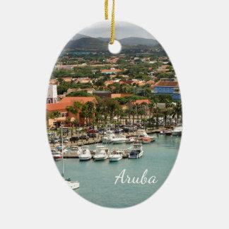 Aruba Marina Julgransprydnad Keramik