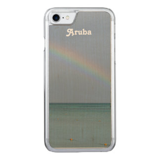 Aruba regnbåge carved iPhone 7 skal