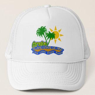 Aruba som är statlig av Mind hatten - välj färg Truckerkeps