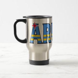 Aruba travel mug rostfritt stål resemugg