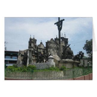 Arv av den Cebu monumentet Hälsningskort