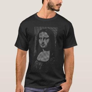 ASCII mona lisa Tshirts