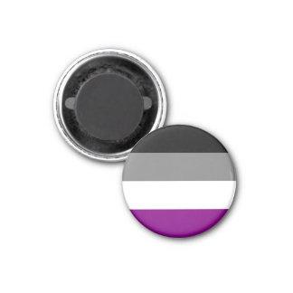 Asexual flaggamagneter magnet för kylskåp