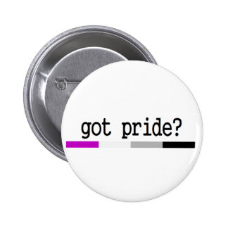 "Asexual pride ""harpride?"", keychain standard knapp rund 5.7 cm"