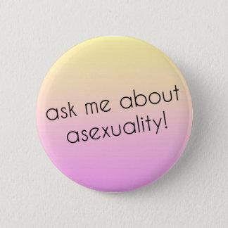 Asexual pride klämmer fast standard knapp rund 5.7 cm