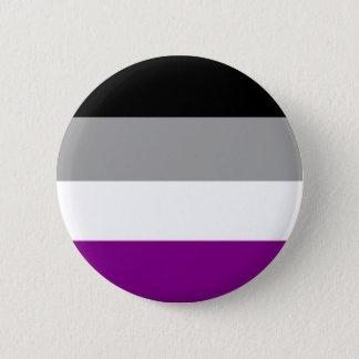 Asexual pride knäppas standard knapp rund 5.7 cm