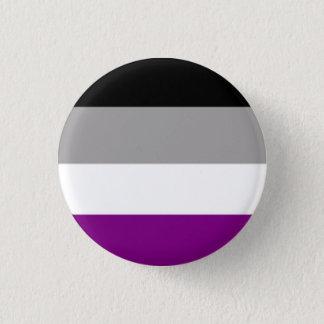 Asexuality Mini Knapp Rund 3.2 Cm