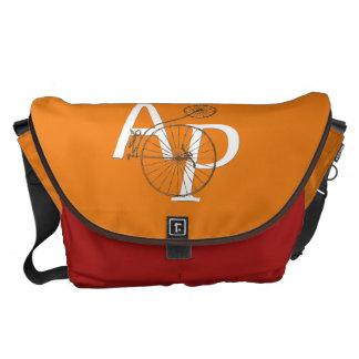 Asfalt- & gräsRichshaw messenger bag