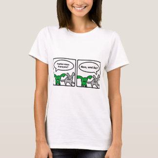 Asfulla kaniner - Parlez-vous Français? Nee… Tee Shirts