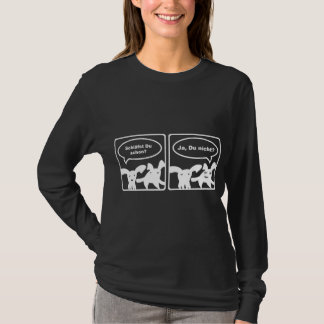 Asfulla kaniner - Schlaefst Du schon? Ja und Du? Tee Shirts