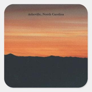 Asheville North Carolina klistermärke