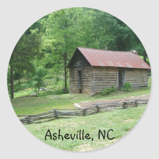 Asheville North Carolina Runt Klistermärke
