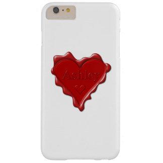 Ashley. Den röda hjärtavaxen förseglar med kända Barely There iPhone 6 Plus Skal