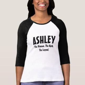 Ashley kvinnan, mythen, legenden tee shirts
