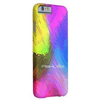 Ashley täcker den färgrika iPhonen Barely There iPhone 6 Skal