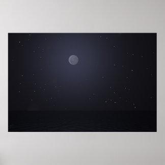 Ashnight med stjärnor posters