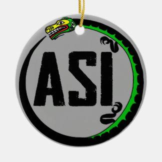 ASI-prydnad Julgransprydnad Keramik
