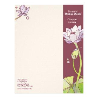 Asiatisk affär för lotusblommaSpasalong Brevhuvud