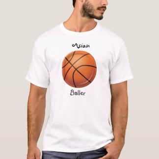 asiatisk baller tee shirt