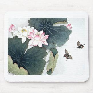 Asiatisk coola för konst för fjäril för blomma för musmatta