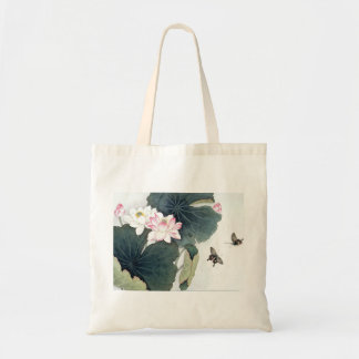 Asiatisk coola för konst för fjäril för blomma för tygkasse