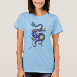 asiatisk draketatueringskjorta t-shirt