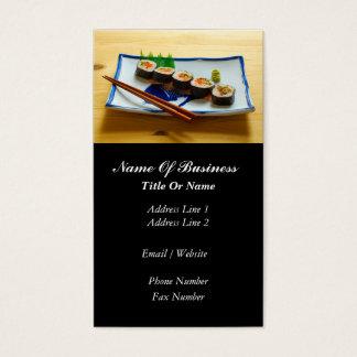 Asiatisk restaurangvisitkort visitkort