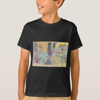 Asiatiska underhållare av Paul Klee Tshirts