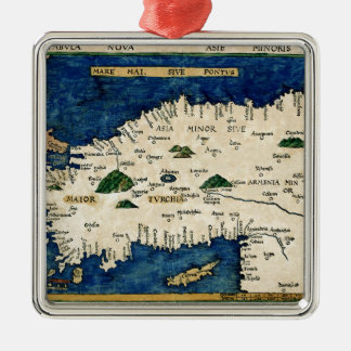 Asien 1513 julgransprydnad metall