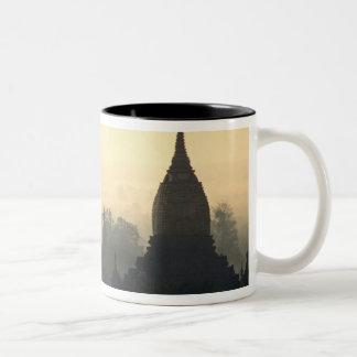 Asien Burma, (Myanmar), hettluft för Pagan (Bagan) Två-Tonad Mugg