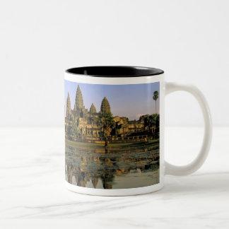 Asien Cambodja, Siem Reap. Angkor Wat. 2 Två-Tonad Mugg
