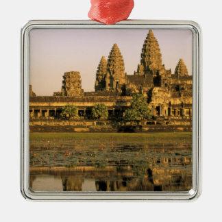 Asien Cambodja, Siem Reap. Angkor Wat. Julgransprydnad Metall