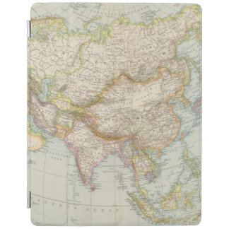 Asien - karta av Asien iPad Skydd