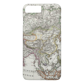 Asien karta vid Stieler